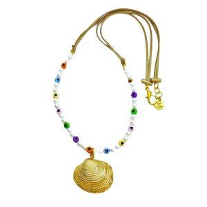Collar perlas chirla Marta sanjose