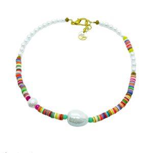 COLLAR multicolor perla Marta Sanjosé