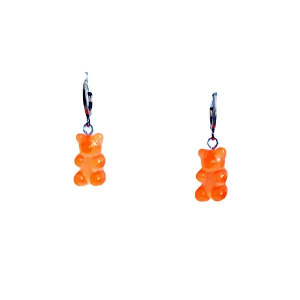 piercing osito naranja
